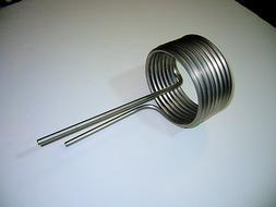0.250 ID Stainless Steel Heating Cooling Tubing Coil, Chille