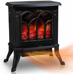 Electric Fireplace Stove Heater Stove Realistic Flame Overhe