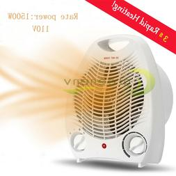1500W Portable Electric Space Heater 3 Settings Fan Forced A