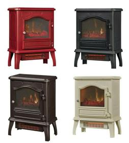"23"" Electric Fireplace Stove Heater 1500W Free Standing Comp"