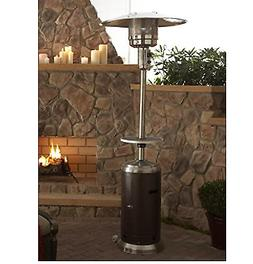 48 000 btu propane patio heater bronze