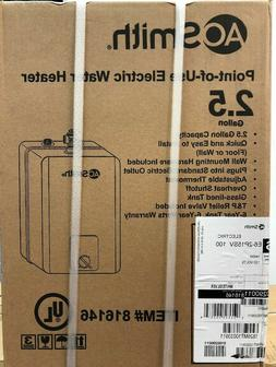 A.O. Smith 2.5-Gallon 1440-Watt point of use Electric Water
