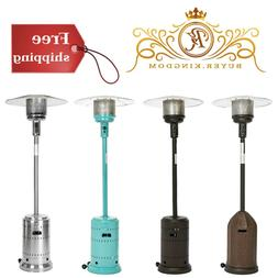 Auto Shut Off Patio Heater With Sturdy Base Wheels For Cafes