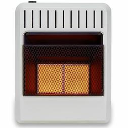 Avenger Dual Fuel Ventless Infrared Gas Space Heater With Ba
