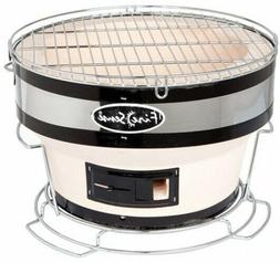 Small Ceramic Clay Charcoal Barbeque Grill Hotspot Cooking B