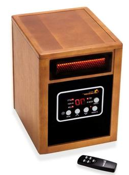 Dr. Infrared Space Heaters Heater Portable with Humidifier,