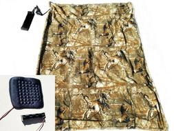 Electric Blanket/seat heater combo - Perfect for Deer Blind