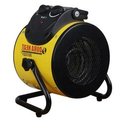 1500 Watt Electric Forced Air Heater with Pivoting Base