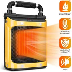 Electric Space Heater, Indoor Heater 1500W with Adjustable T