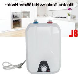 Electric Tankless Hot Water Heater 55℃-75℃ 1500W Kitchen