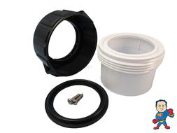 """Hot Tub Spa 2"""" Split Nut & Union Kit for Heater Union with G"""