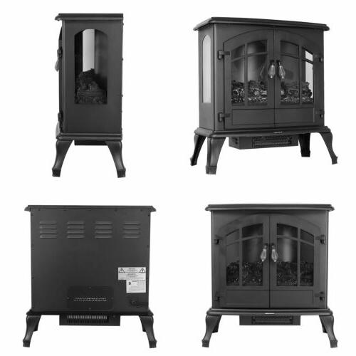 1500W Electric Freestanding Stove