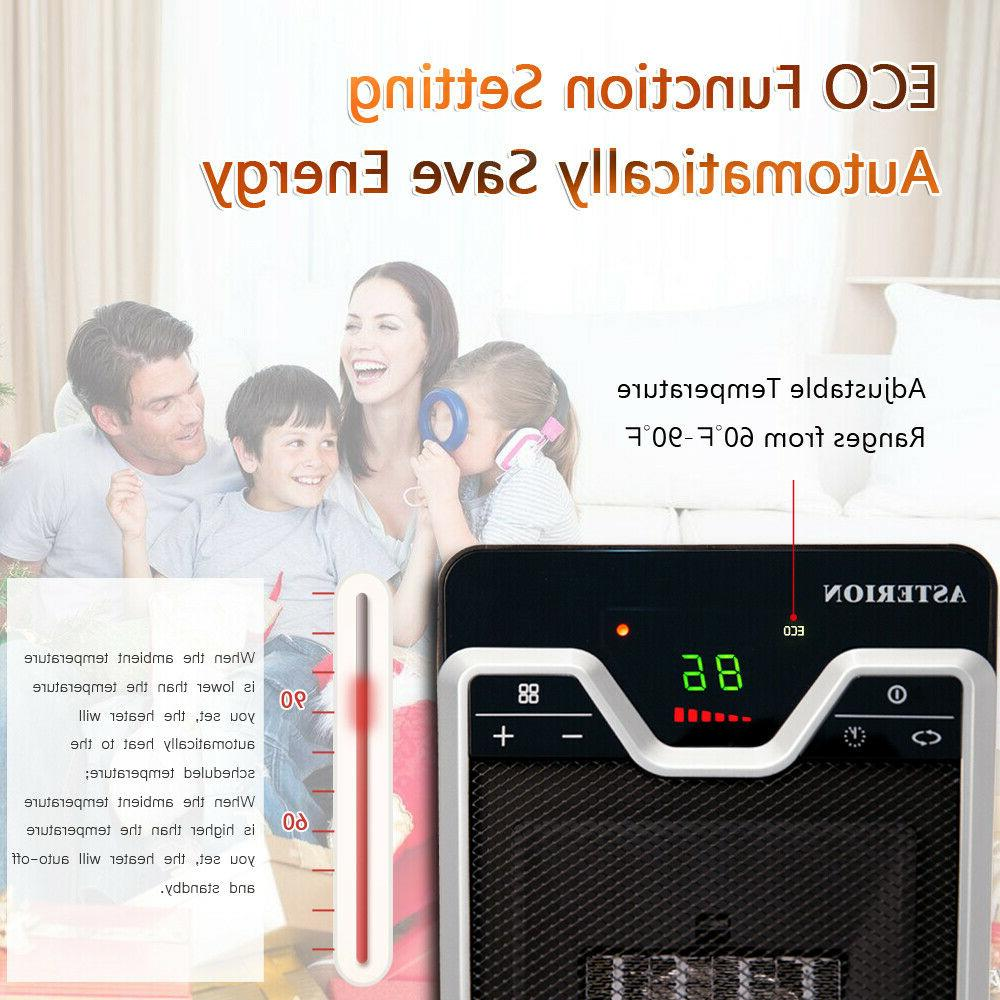 1500W Mini Ceramic Heater Home Office Space Heating Portable