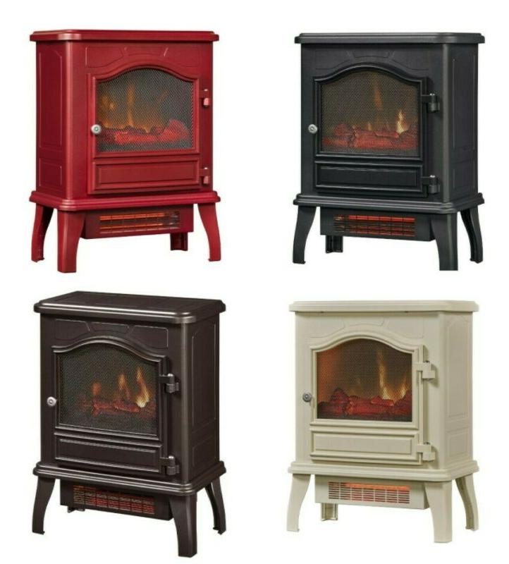 23 electric fireplace stove heater 1500w free