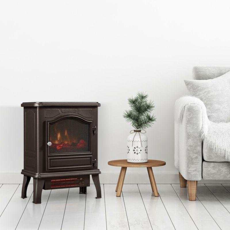 """23"""" Fireplace Heater Compact"""