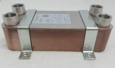 30 plate water to water brazed plate
