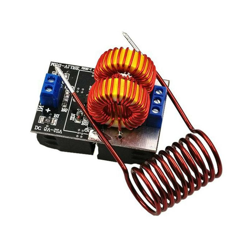 5V-12V ZVS Induction Heating Power Supply Module Coil NEW