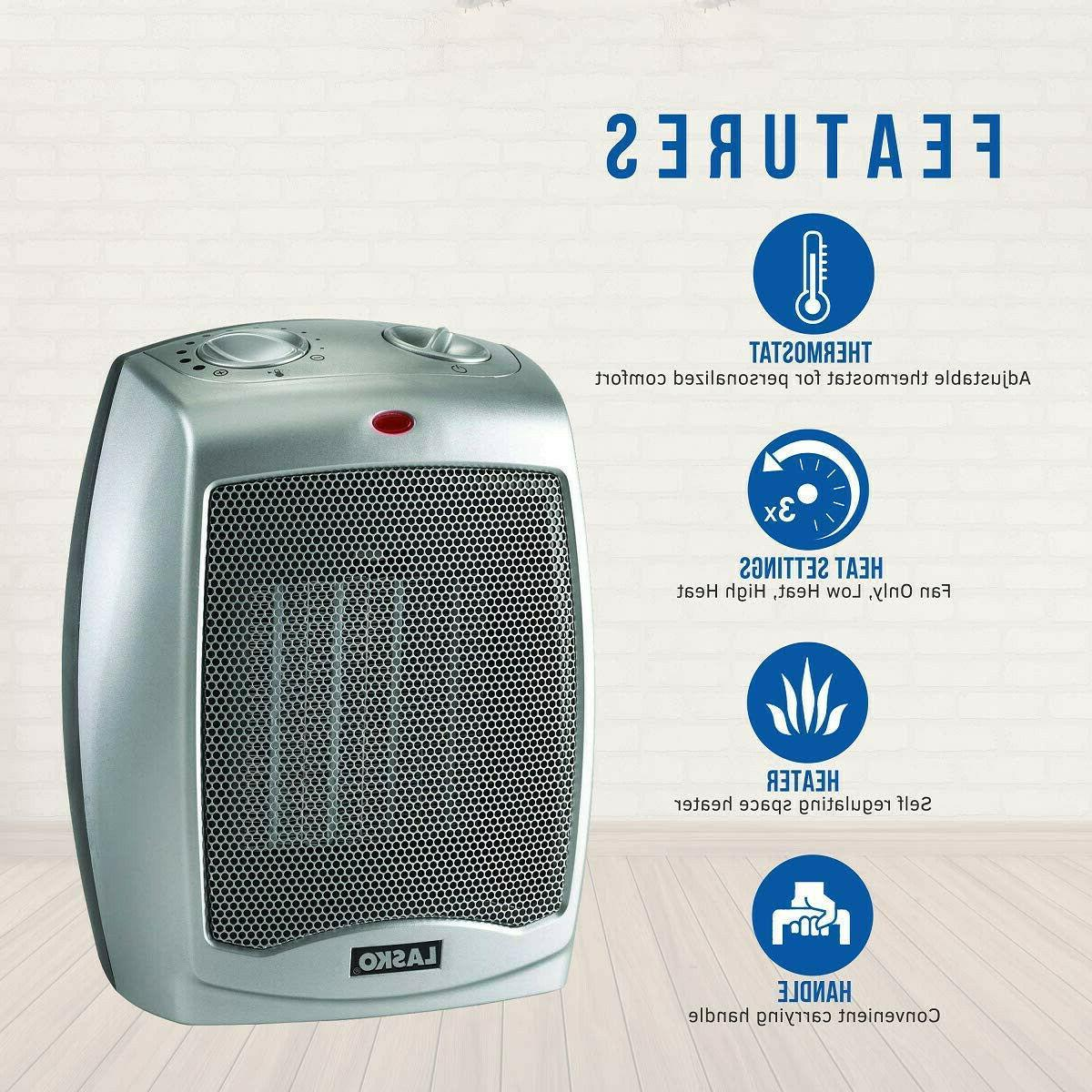 Lasko 754200 Ceramic Portable Space with Thermostat Perfect