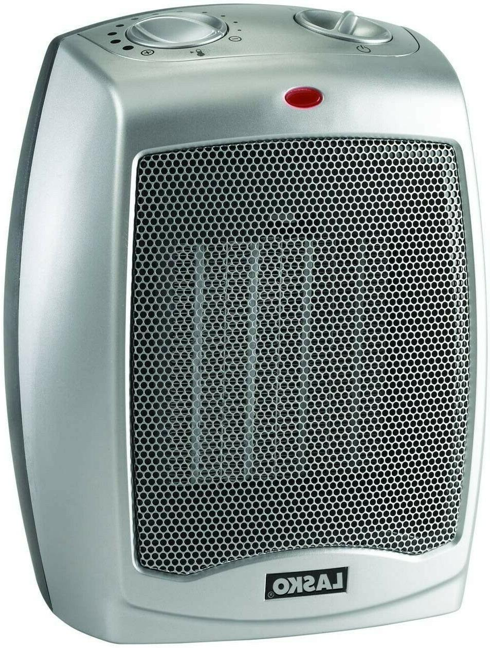 754200 ceramic portable space heater with adjustable