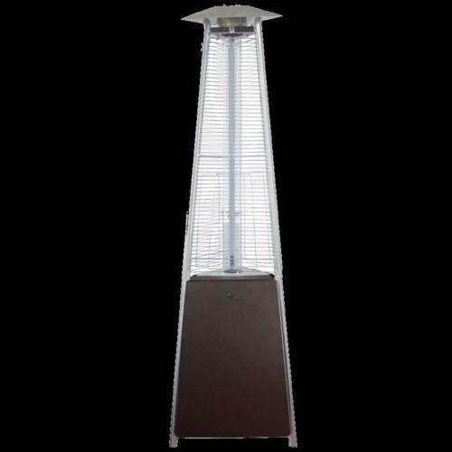 AZ Patio Heaters HLDS01-CGTHG Commercial Glass Tube Patio He