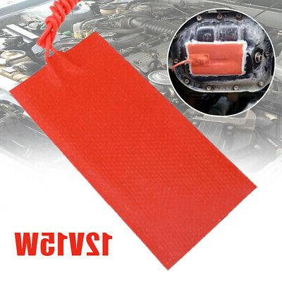 Home Improvement Silicone Heater Pad 15W Car Fuel Tank Home