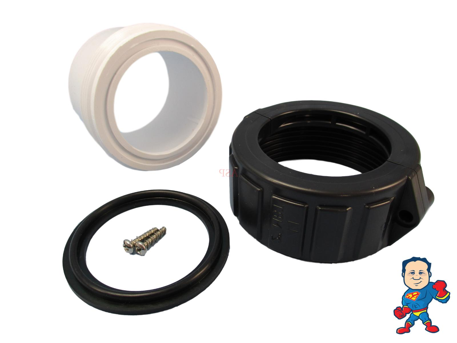 Hot Tub Spa Split Nut Kit for with Gasket To