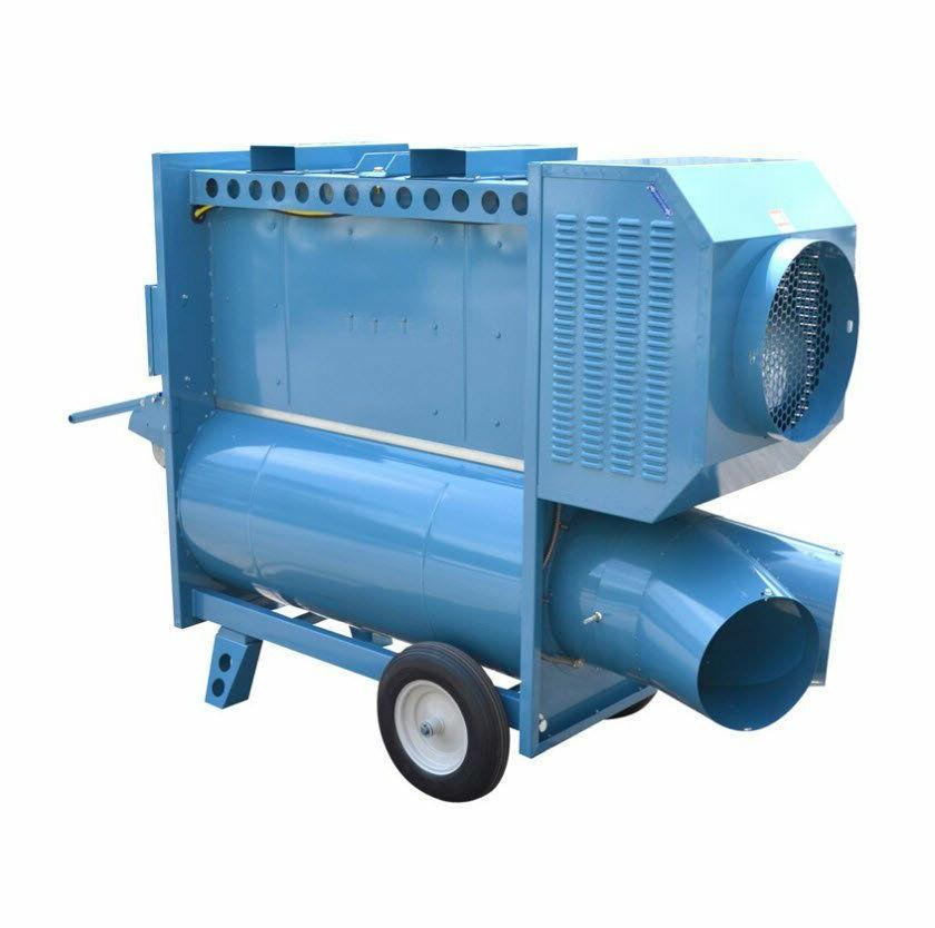 indirect fired heater ductable propane and natural