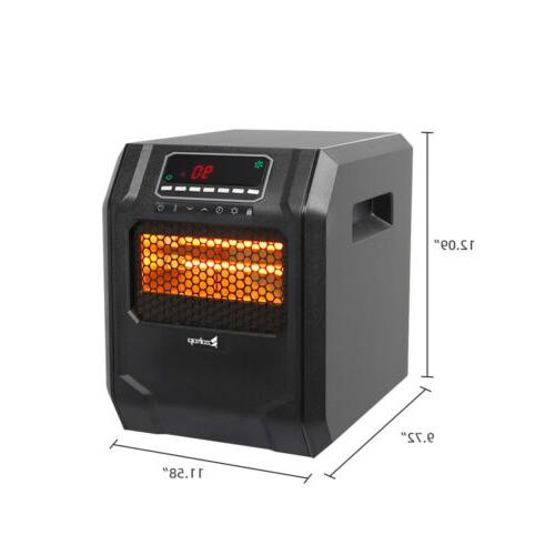 ZOKOP 4-Element Portable Room Space Heater