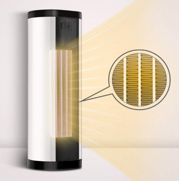space heater indoor portable electric 1500w tower