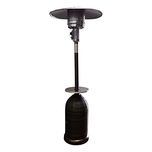 Tall Propane Patio Heater with Table