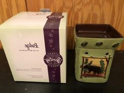 Lodge Deluxe Scentsy Warmer Authentic Product New In Box