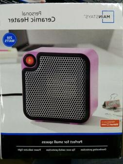 Main Stays | Personal Ceramic Space Heater - 250 Watts - Pin