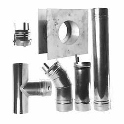 Mr. Heater F102860 4-Inch Horizontal Vent Kit for HSU and MH