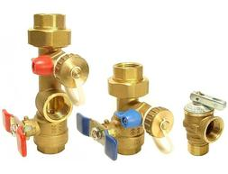 A.O.Smith- Tankless Water Heater Isolation Valves Kit With R