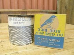 Original Vintage NEW Quality Blue Bird American Stove Wick K