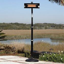 Fire Sense Powder Coated Steel Telescoping Pole Mounted Infr