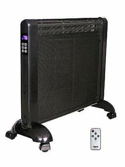 Space Heater Portable, Flat Panel Small Electric Portable Pa