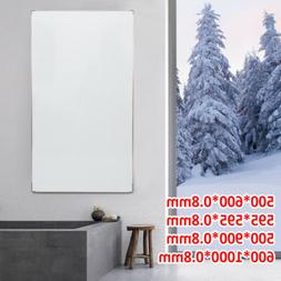 Infrared Heating Panel Fireplace Flexible Wall-Hung Electric