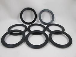 "8X 2"" Spa Hot Tub Pump Heater Union Gasket with How To Video"