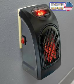 Wall Outlet Plug In Ceramic Handy Personal Mini Space Heater