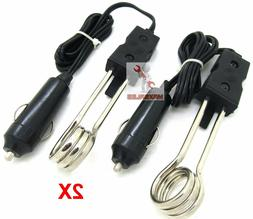 120W-12V Water Heater Portable Electric Immersion Element Co